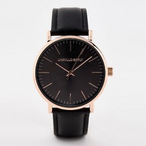 Black and rose gold men's watch from ASOS photo