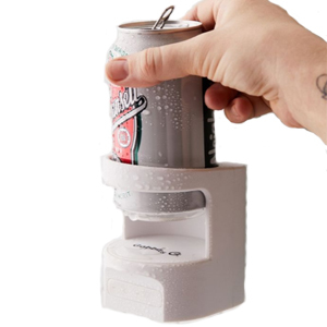 White shower beer holder with a Bluetooth speaker from Urban Outfitters photo