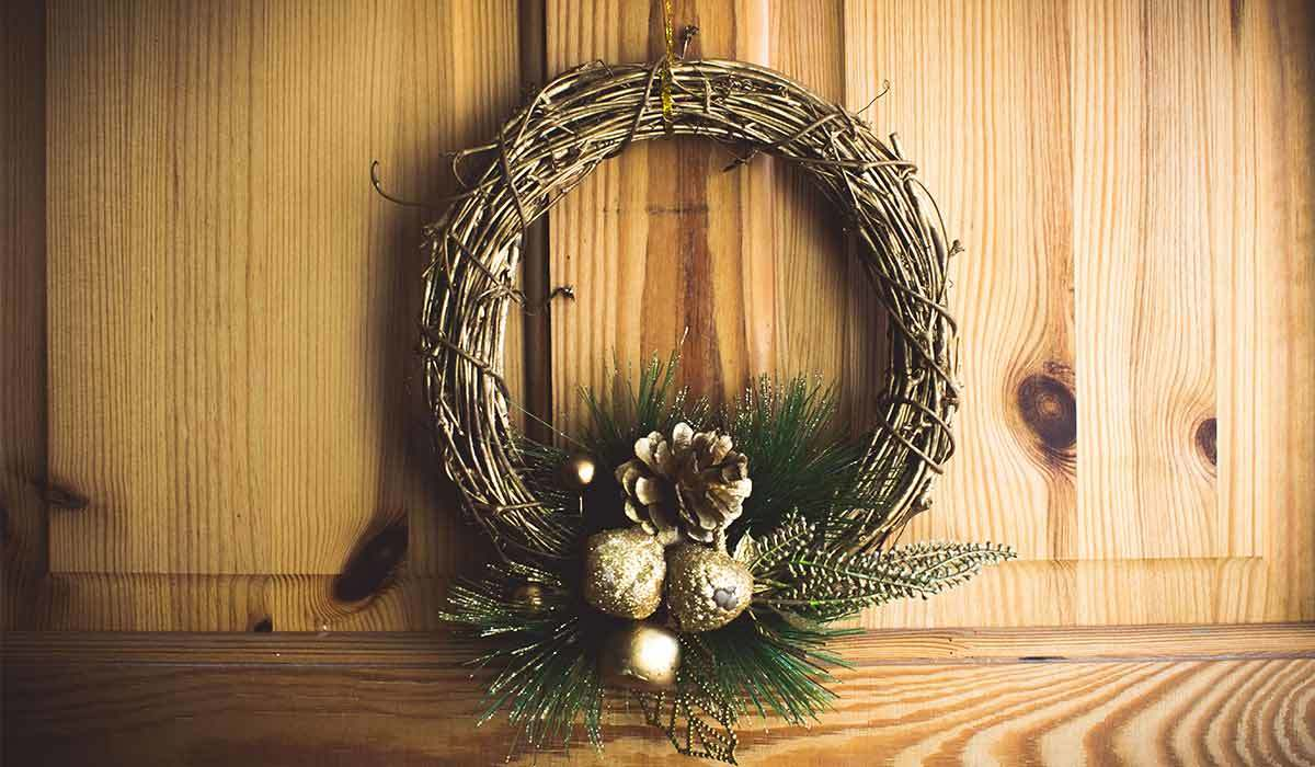 These Christmas Door Decorations Are So Charming You Won't Believe They're Under $50
