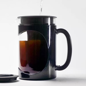 Cold Brew Coffee Maker with lid from Wayfair photo
