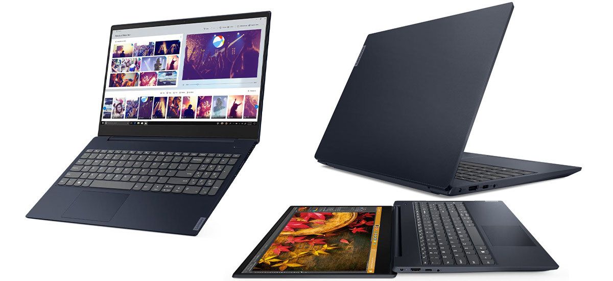 Dark blue Lenovo laptop on sale from Walmart photo