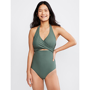 Bounceback Pull-Over One-Piece Swimsuit photo