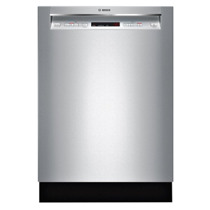 Stainless steel Bosch dishwasher from Best Buy photo