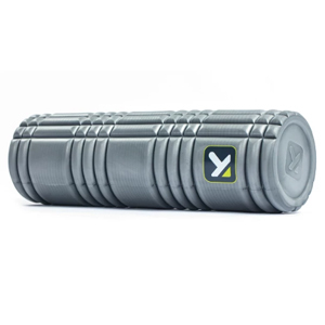 Gray foam roller from Target photo
