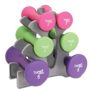 A set of dumbbells from Walmart photo