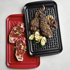 A set of two grill prep trays from Williams Sonoma photo