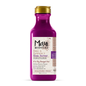 Maui Moisture Heal & Hydrate conditioner in magenta bottle from Amazon photo