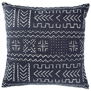 Rivet Mudcloth-Inspired Decorative Throw Pillow from Amazon photo
