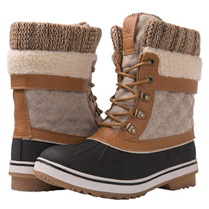 Waterproof winter snow boots from Amazon photo