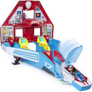 PAW Patrol 2-in-1 Transforming Mighty Pups Jet Command Center photo