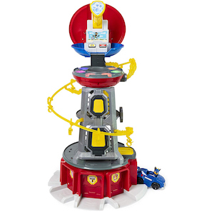 PAW Patrol Mighty Pups Super Paws Lookout Tower photo