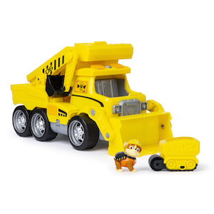 PAW Patrol Ultimate Rescue Construction Truck with Lights, Sound and Mini Vehicle photo