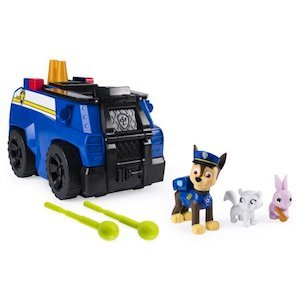 PAW Patrol Chase's Ride N Rescue Transforming 2-in-1 Playset and Police Cruiser photo