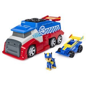 PAW Patrol, Ready, Race, Rescue Mobile Pit Stop Team Vehicle photo