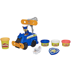 Play-Doh PAW Patrol Rescue Rolling Chase Toy Police Cruiser Figure & Vehicle Set photo