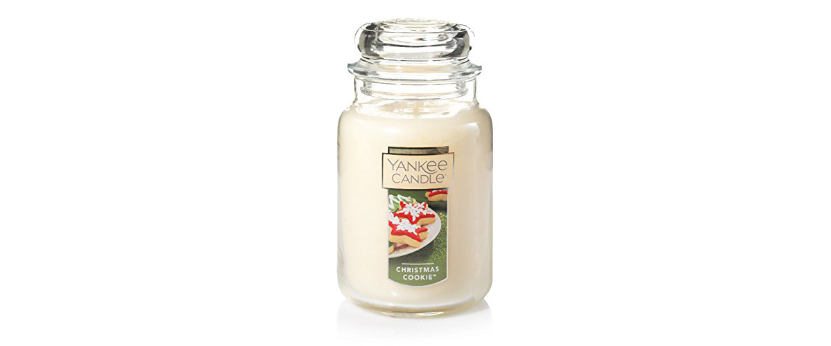 Christmas Cookie large jar Yankee Candle from Amazon photo
