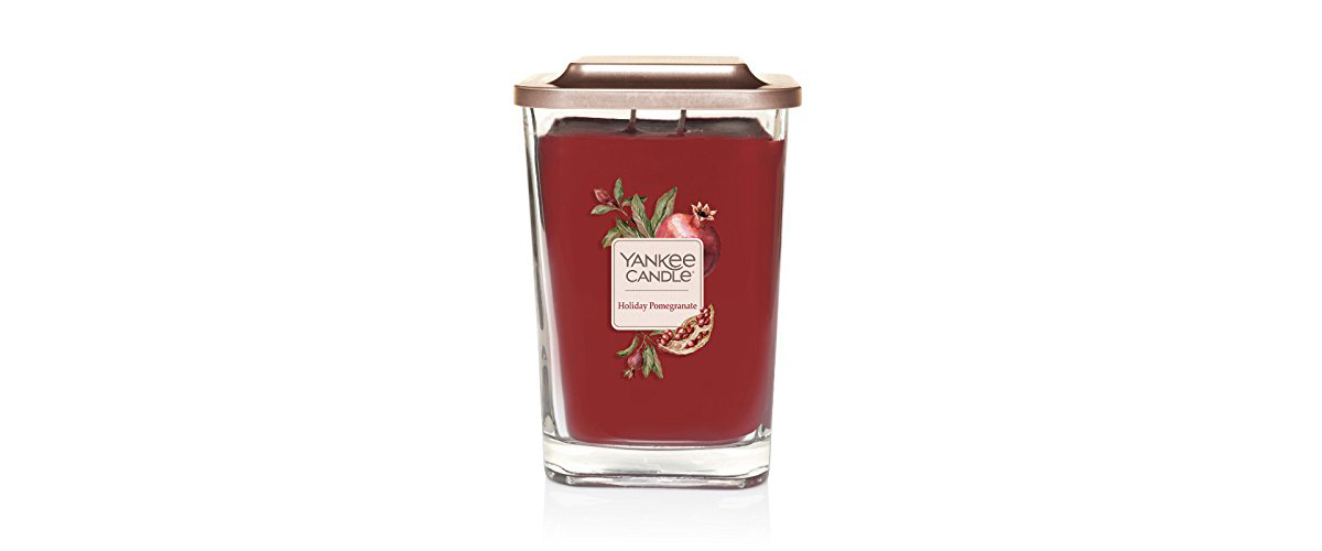 Holiday Pomegranate large 2-wick Yankee Candle from Amazon photo