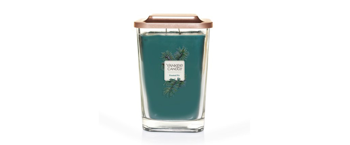 Frosted Fir large 2-wick Yankee Candle from Walmart photo