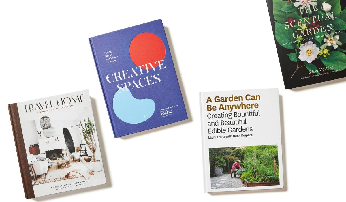 Four coffee table books available at Amazon, Target, and Walmart photo