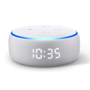 All-new Amazon Echo Dot 3rd generation with clock photo