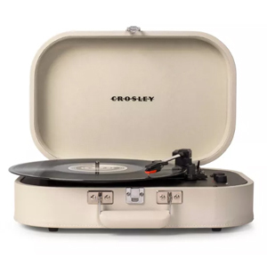 Vintage turntable with Bluetooth technology from Target photo
