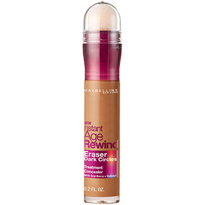 Sponge-tipped tube of Maybelline Instant Age Rewind concealer from Walmart photo