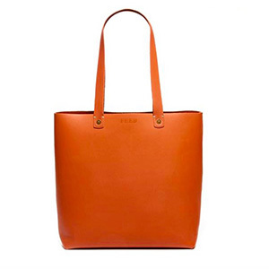 FEED Harriet Leather Tote photo