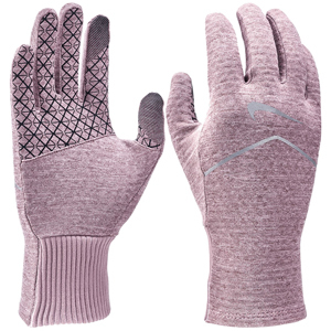 Pink Nike running gloves with gripped pattern from Dick's Sporting Goods photo