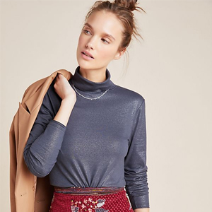 Gracia Turtleneck Pullover from Anthropologie photo