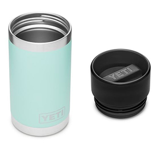 Mint colored thermos with a lid from Williams Sonoma photo