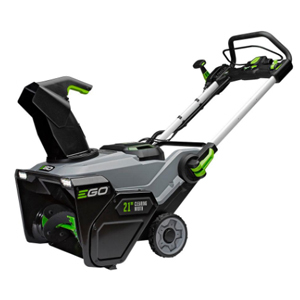 Cordless electric snow blower from The Home Depot photo