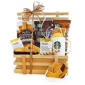 Assorted gift sets and basket from Bed Bath & Beyond photo
