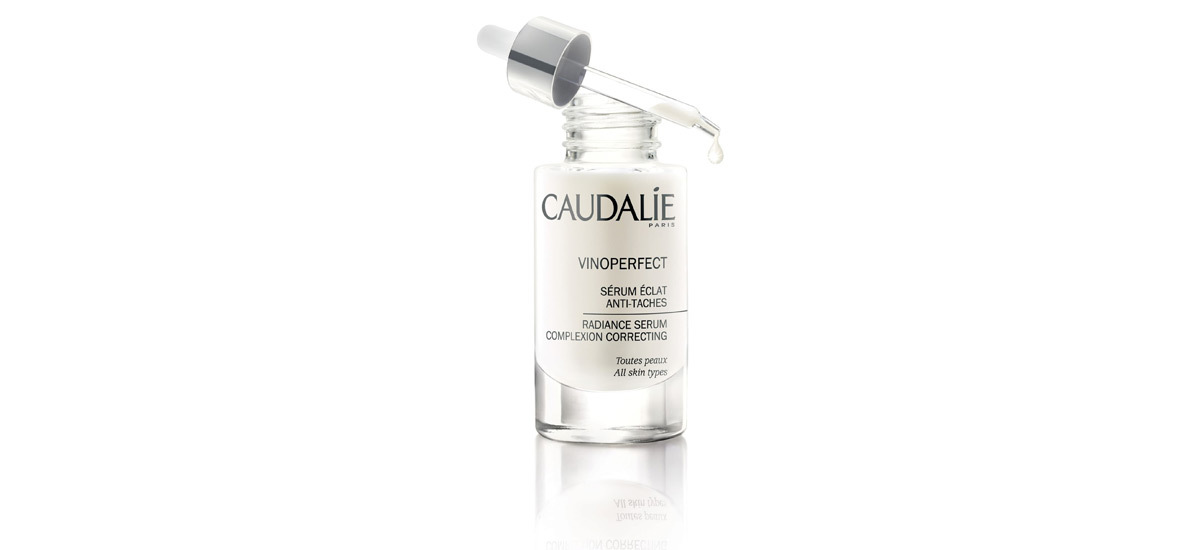 Serum bottle and dropper by Caudalíe photo