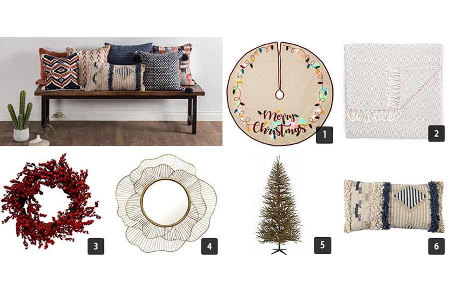 Collage of various home decor items from Houzz photo