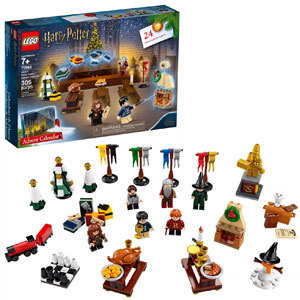 LEGO advent calendar with Harry Potter characters photo