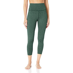 Green crop leggings with pockets from Core10 at Amazon photo