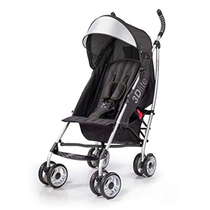 Infant travel stroller with storage from Amazon photo