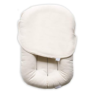 White baby lounger from Amazon photo