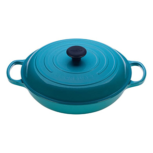 Blue oval Le Creuset braiser from Nordstrom photo