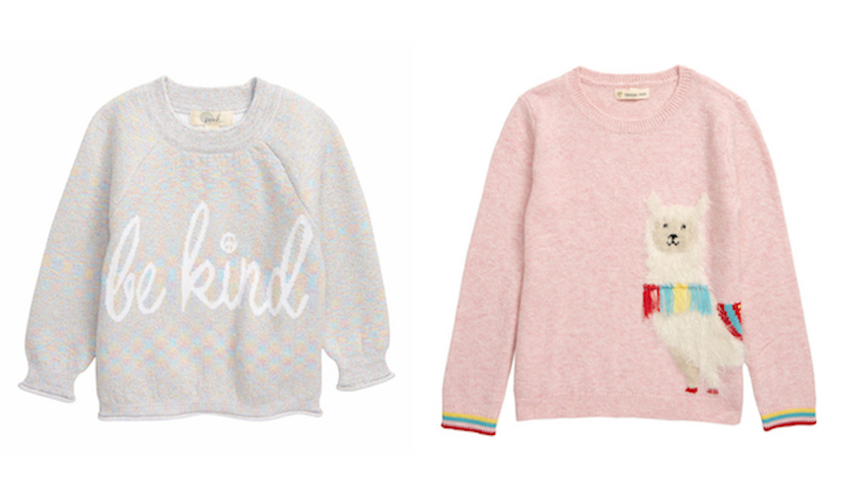 The Sweetest Sweater Styles for Girls of All Ages