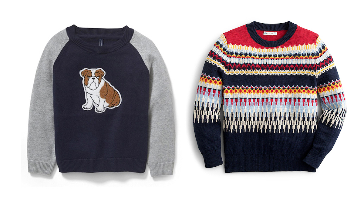 Super Cute Winter Sweater Styles for Little and Big Boys