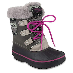 London Fog Girls Tottenham Cold Weather Warm Lined Snow Boots photo
