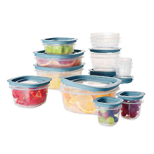 Set of Rubbermaid food storage containers from Bed Bath & Beyond photo