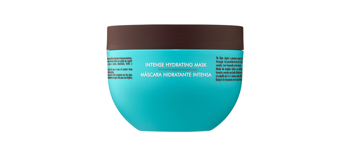 Moroccanoil Intense Hydrating Mask in blue packaging from Sephora photo