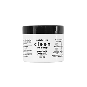 White and black container of Cleen Beauty moisturizer from Walmart photo