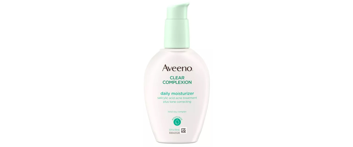 Aveeno clear complexion daily moisturizer from Target photo