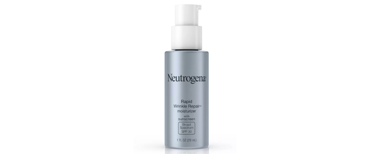 Neutrogena rapid wrinkle repair face and neck moisturizer from Target photo