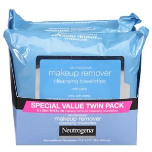 Special value twin pack of neutrogena makeup wipes from Walmart photo