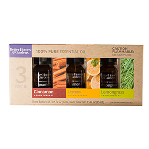 Set of three Better Homes & Gardens essential oils from Walmart photo