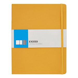 Yellow Exceed notebook from Walmart photo